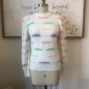 Tops - Perfect Vintage Pastel Spring Sweater S